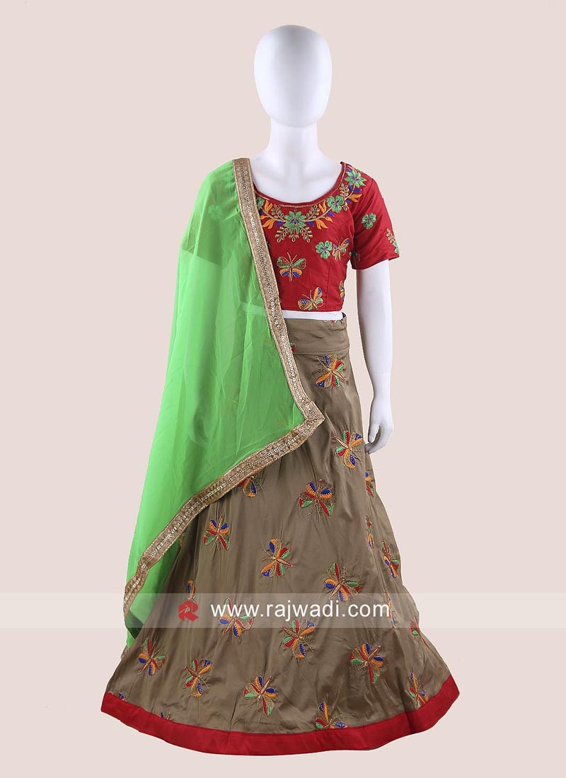 Stitched Chaniya Choli for Girls