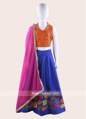 Stitched Girls Chaniya Choli for Navratri