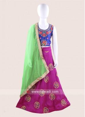 Stitched Traditional Chaniya Choli for Kids