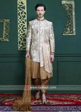 Anarkali Style Indo Western For Wedding