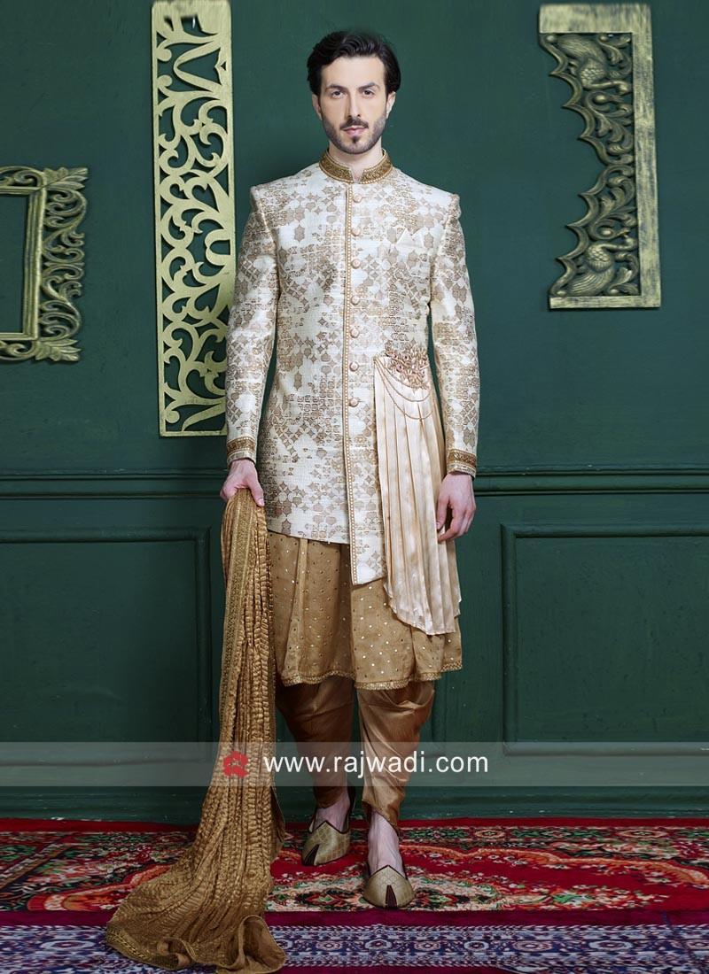 Anarkali Style Indo Western For Wedding