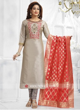 Stone and Resham Work Salwar Suit