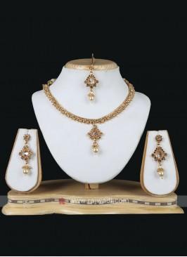 Stone Enhanced Necklace set