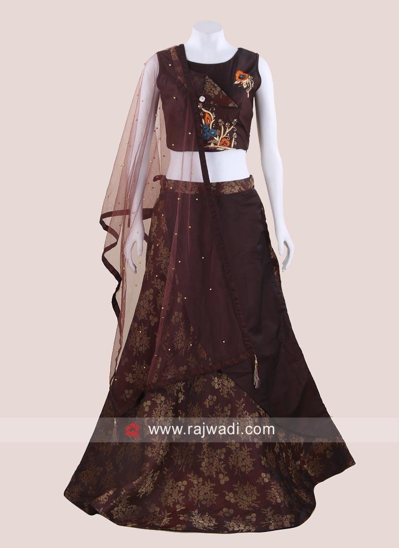 Stone Work Designer Choli Suit