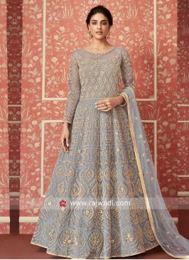 Stunning Festive Wear Anarkali Suit