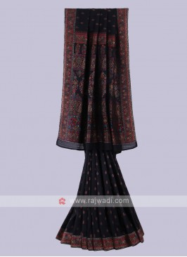 Stunning Black Color Saree