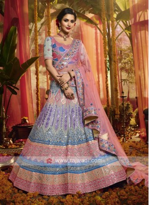 Stunning Thread Work Lehenga Choli