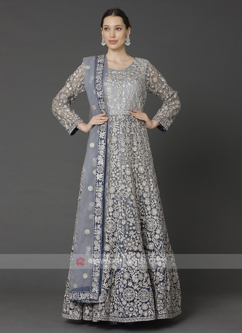 Stylish Anarkali Suit With Dupatta