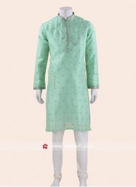 Stylish Aquamarine color Kurta Pajama
