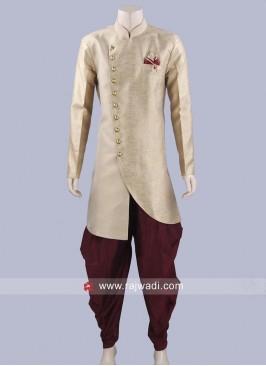Stylish Art Jute Fabric Patiala Set