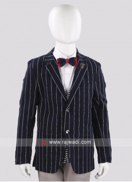 Stylish Art Silk Blazer For Boys