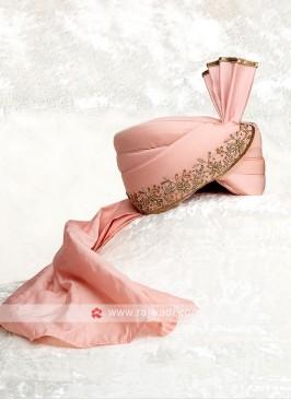 Stylish Art Silk Grooms Turban