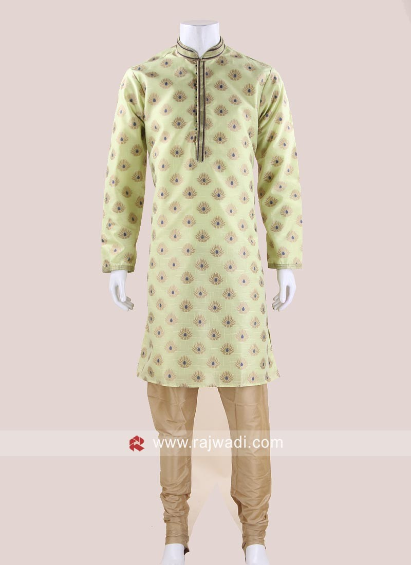 Stylish Art Silk Kurta Pajama