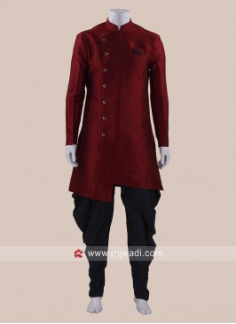 Stylish Art Silk Patiala Suit