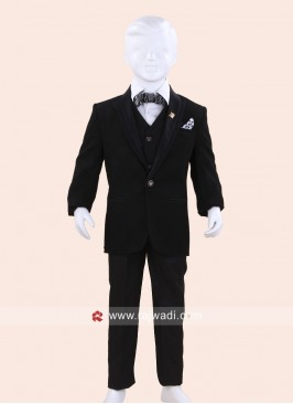 Stylish Black Boys Suit