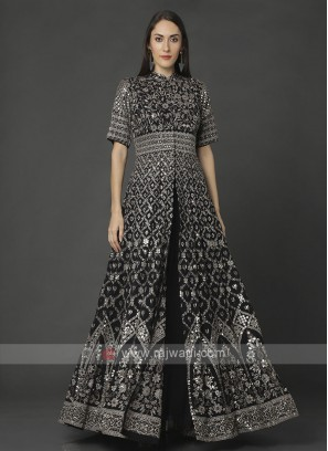 Stylish Black Color Indowestern