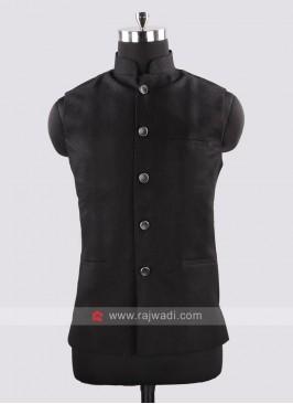 Stylish Black Color Koti