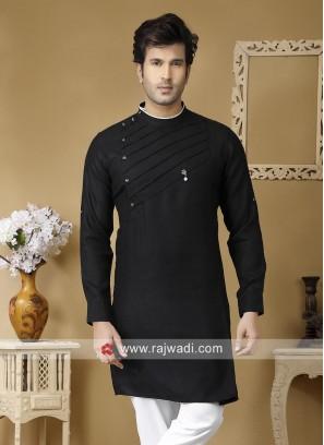 Stylish Black Color Kurta
