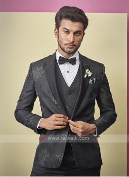 stylish black color suit