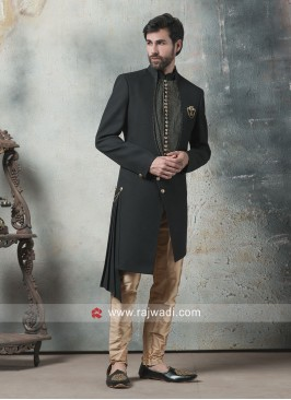 Stylish Black Indo Western