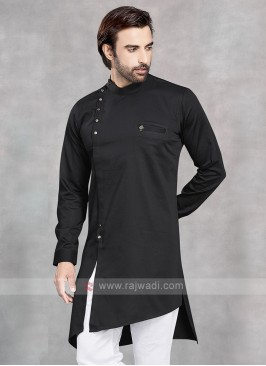 Stylish Black Kurta