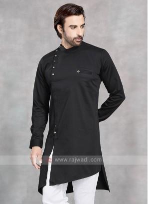 Stylish Black Kurta