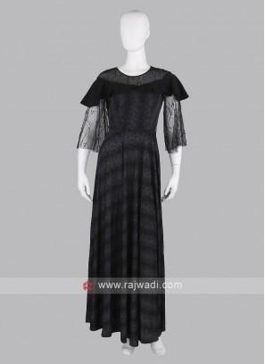 Stylish Black Maxi Dress