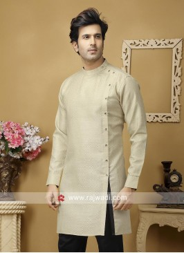 Stylish Beige Color Kurta