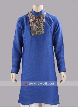Stylish Blue Color Kurta