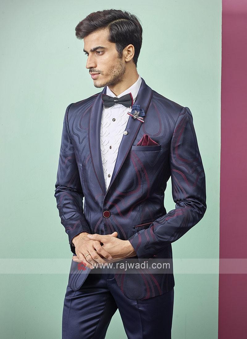 stylish blue color suit