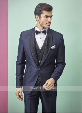 stylish blue color suit