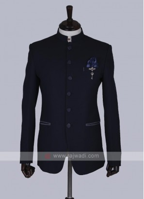Stylish Blue Jodhpuri Suit
