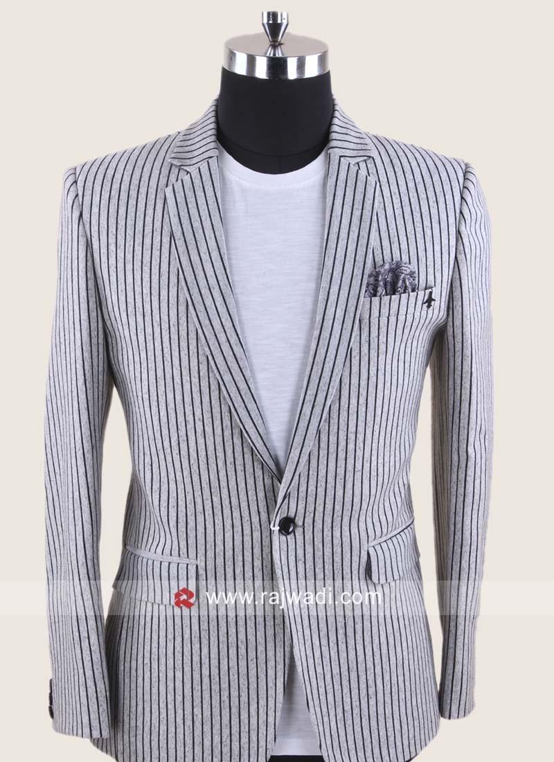 Stylish Corduroy Party Wear Blazer