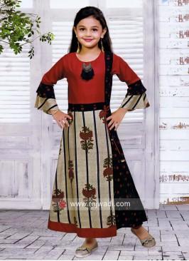 Stylish Cotton Kurta Set for Kids