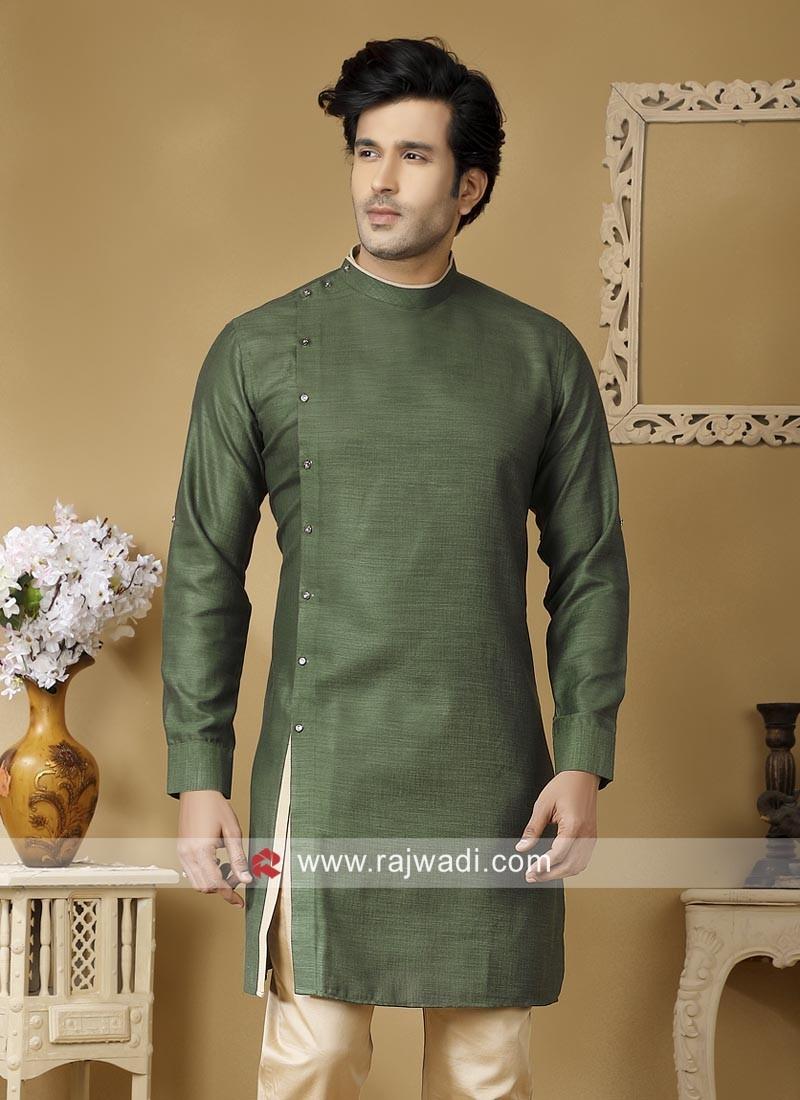 Stylish Linen Fabric Kurta