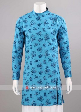 Stylish Cotton Silk Fabric Kurta