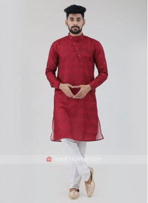 Stylish Cotton Silk Kurta Pajama
