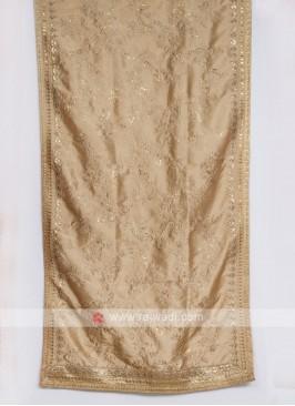 Stylish Grey Color Silk Dupatta