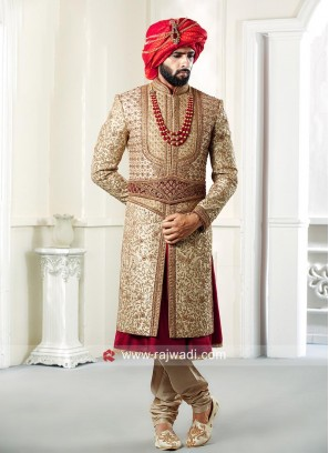 Stylish Groom Sherwani