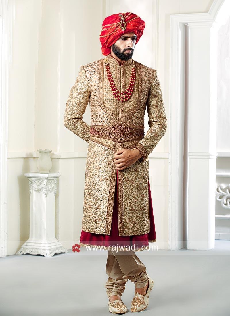 Stylish Groom Sherwani
