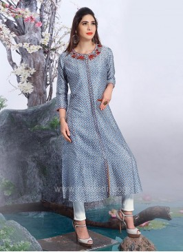 Stylish Hand Embroidered Kurti