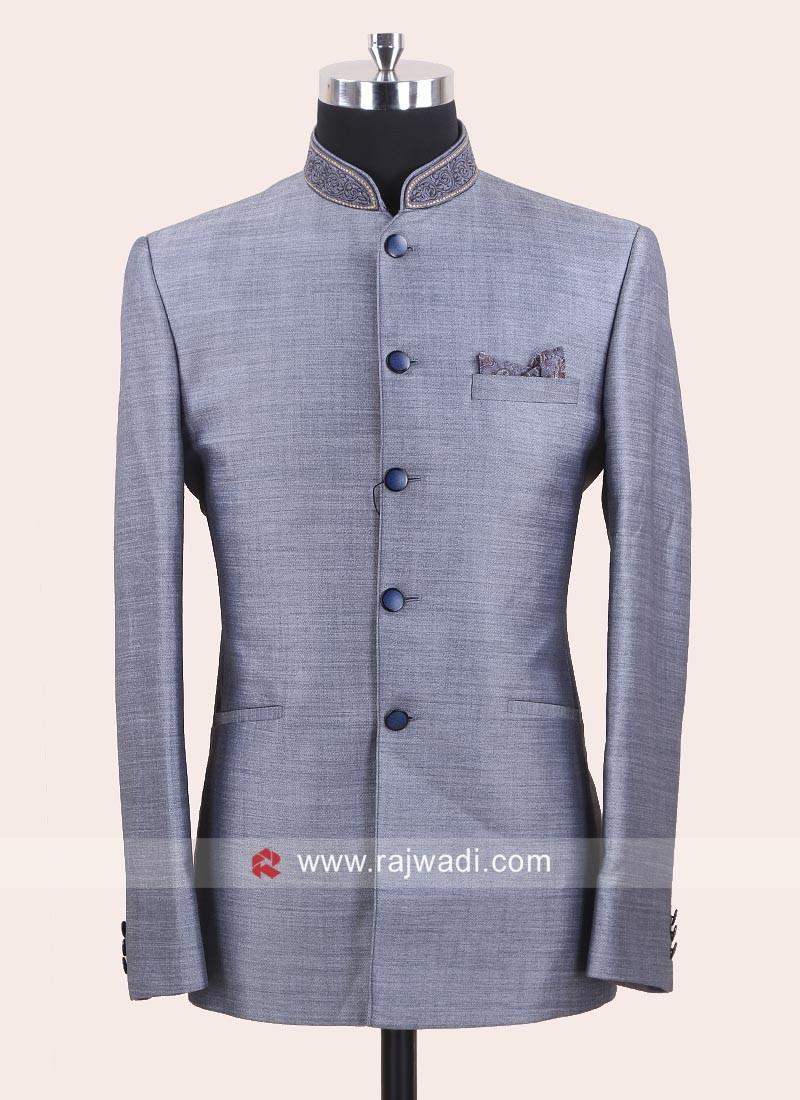 Stylish Imported Fabric Jodhpuri Suit