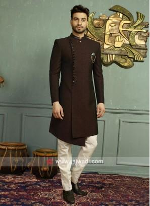 Stylish Imported Fabric Mens Indo Western