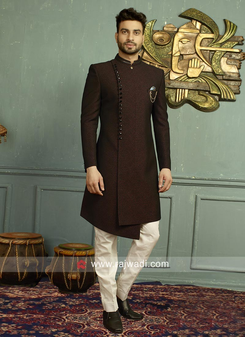 Stylish Imported Fabric Mens Indo Western