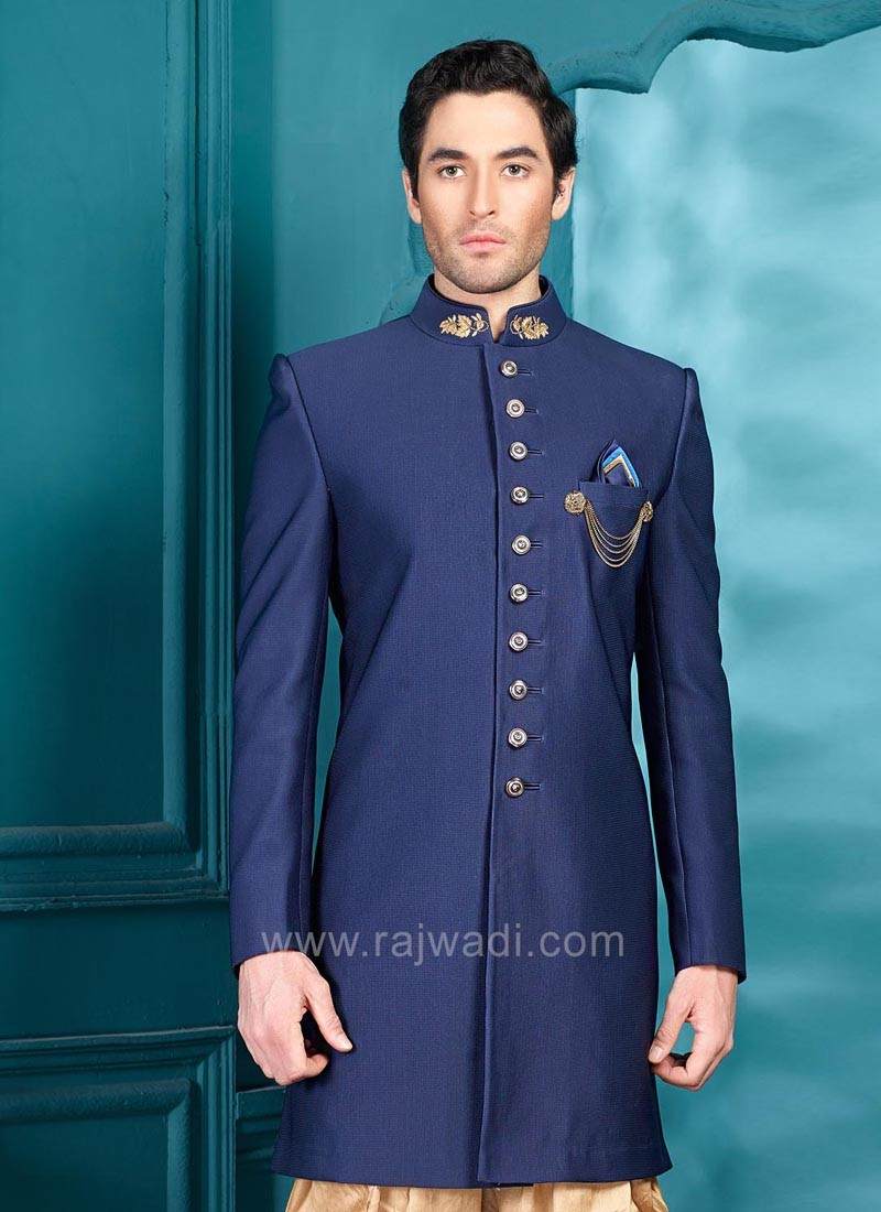Stylish Indo Western in Navy Blue