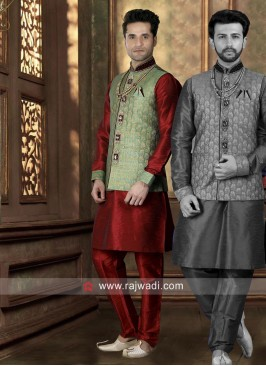 Stylish Koti With Kurta and Bottom