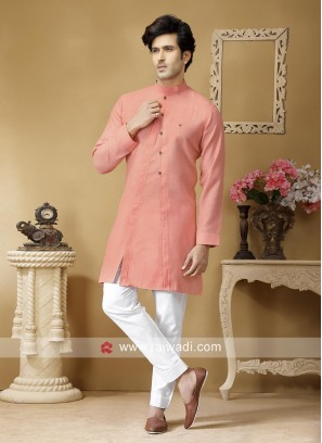 Stylish Kurta Set in Coral