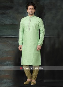 Stylish Kurta Pajama in Light Green