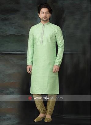 Stylish Kurta Pajama in Light Green