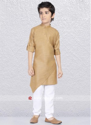 Stylish Goldenrod Color Kurta Pajama